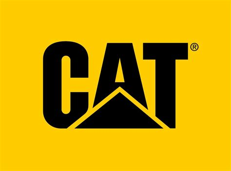 a logo with a everything about all logos caterpillar logo pictures