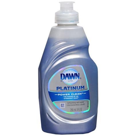dawn ultra platinum power clean dishwashing liquid