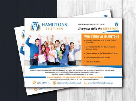 Leaflet Design For Tuition | flyer design by uk for leaflet for tuition centre