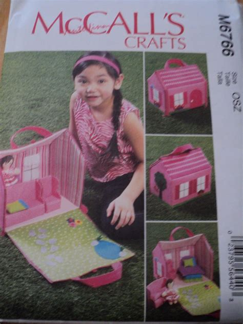 sewing pattern dolls house sewing pattern mccalls craft doll house furniture felt