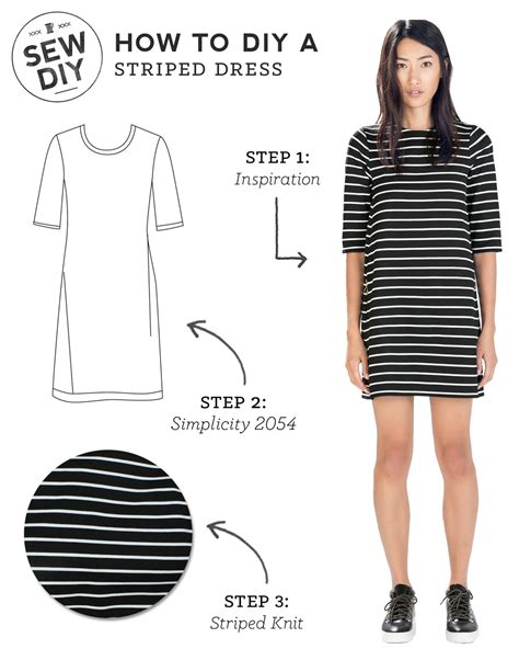 8 Reasons To Try Your Own Clothes by Diy Striped Dress Sew Diy