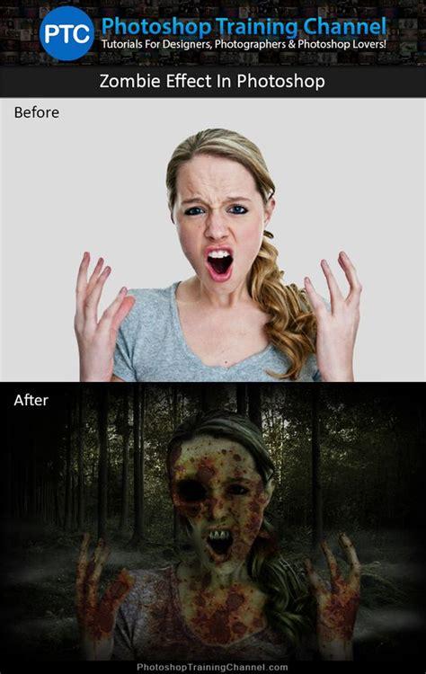 zombie flesh tutorial zombie photoshop tutorial photoshop zombie effect