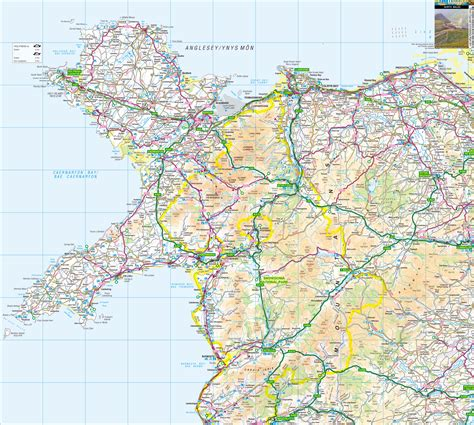printable road map of wales uk opinions on north wales
