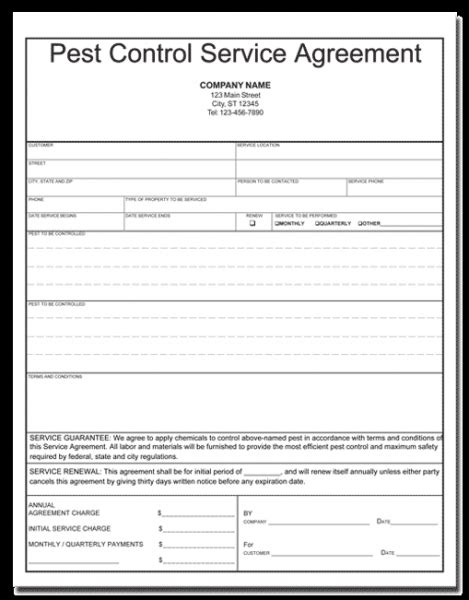 pest management plan template best photos of sle pest invoice template free
