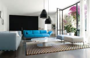 Modern Living Room Colors by Pop Out Color Sofa In Modern Living Room Ideas Team