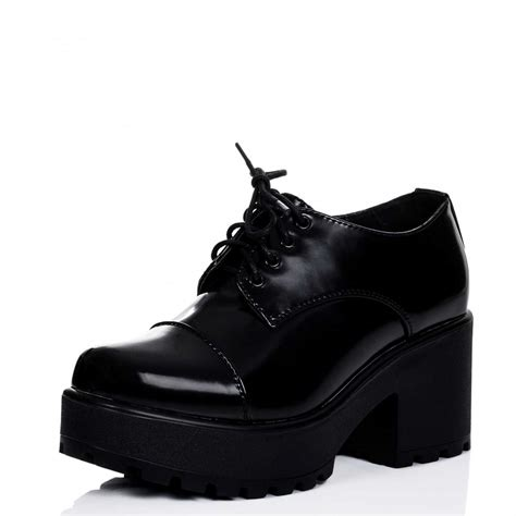 tiger black ankle boots shoes from spylovebuy