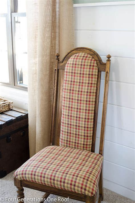 Wingback Archives Four Generations One Roof How To Reupholster A Dining Chair