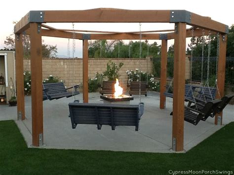 swing fire pit swing fire pit outdoor goods