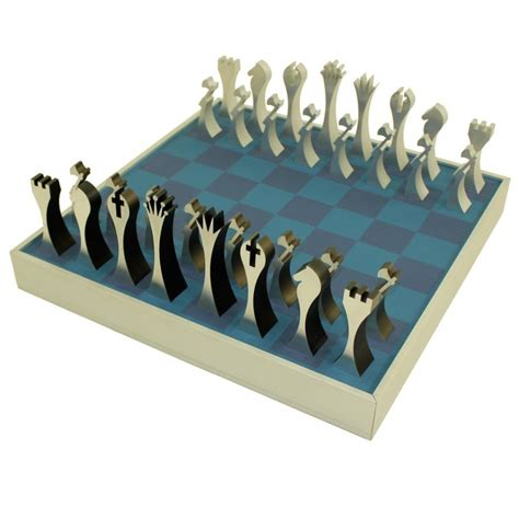 mid century modern chess set modern chess set designed by scott wolfe at 1stdibs