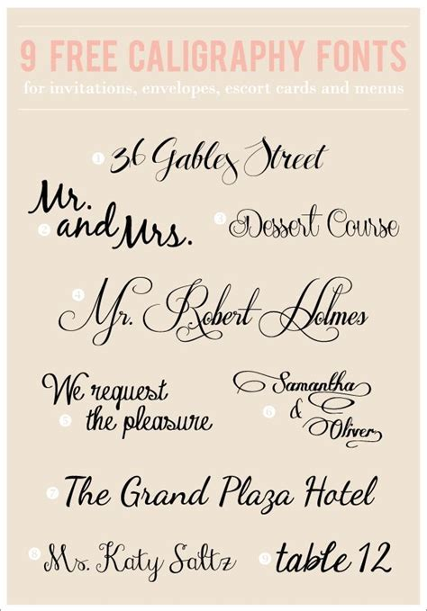 67 best WEDDING FONTS images on Pinterest