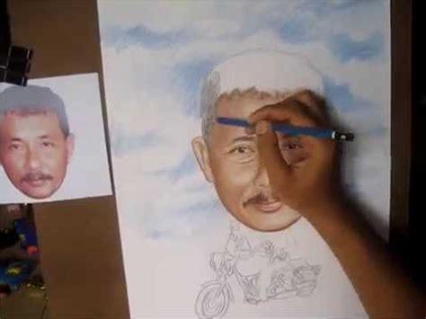 Lukis Wajah Realis 1 cara menggambar karikatur dengan pensil