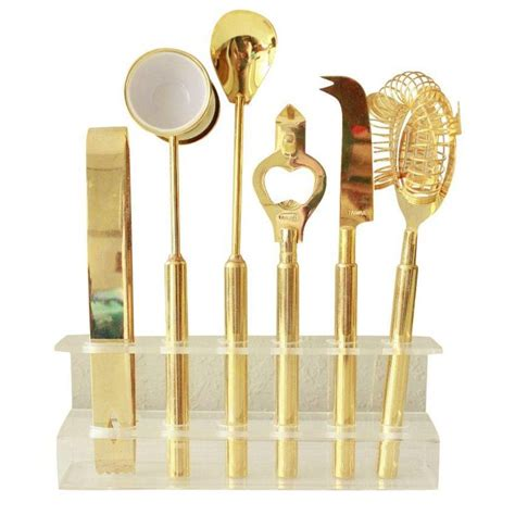 gold barware barware vintage and hard to on pinterest