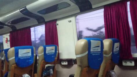 denah tempat duduk kereta api senja utama solo kelas executive kereta malam gumarang youtube