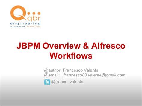 alfresco workflow designer jbpm overview alfresco workflows