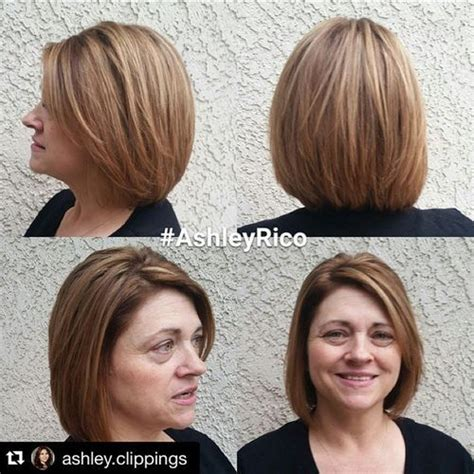 layered bob hair styles for square face older person 70 respectable yet modern hairstyles for women over 50