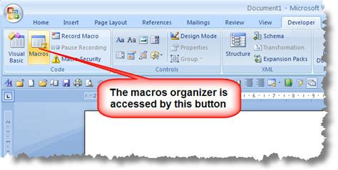 toolbar has disappeared in word 2007