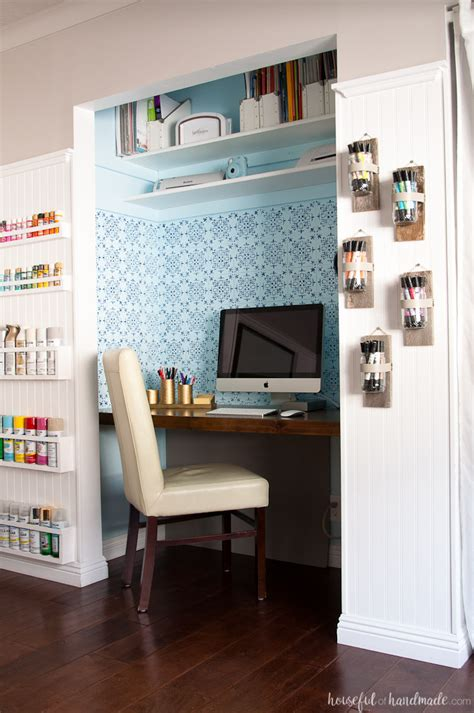 craft room furniture cheap office craft room reveal 100 room challenge a