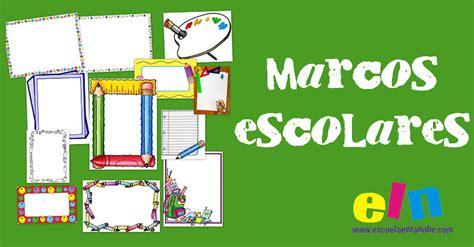 imagenes trabajo escolar recursos para el maestro marcos escolares para trabajos y