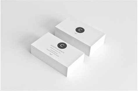 Business Card White Template by White Business Card Template 28 Best Free Black And White