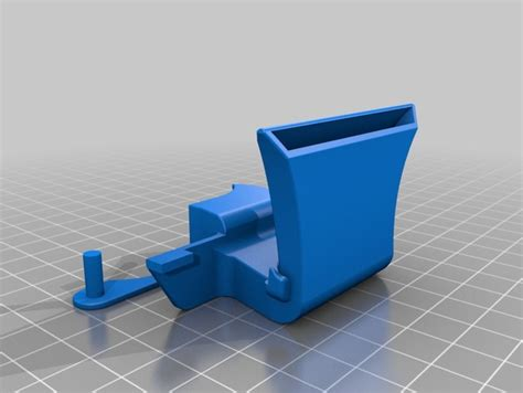 makerbot replicator 2 active cooling fan rear active cooling duct v2 for flashforge creator and