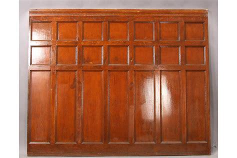 Mahogany Wainscoting Panels Seventeen Pieces Of Oak And Mahogany Panels Wainscoting