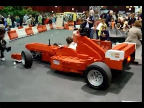 How To Make A F1 Car Out Of Paper - size lego model formula one f1 race car out