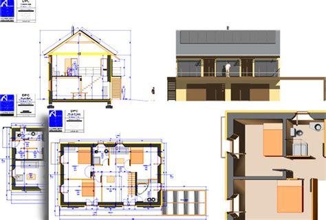 plan maison format dwg gratuit bureau etudes solaire photovoltaique optimisation
