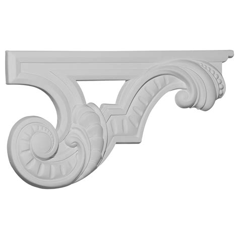 stair r ekena millwork stair bracket primed polyurethane sb12x06sc r primed polyurethane