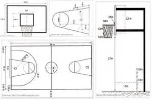 ukuran lapangan bola basket tunas63