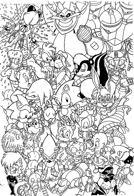 G1201 Set Mickey Shadow Hitam sonic adventure coloring pages learn to coloring