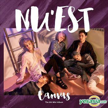 Nu Est Mini Album Vol 1 yesasia nu est mini album vol 5 canvas poster in
