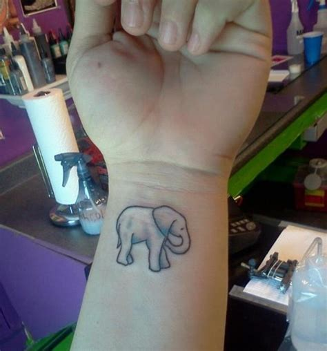 elephant tattoo on wrist meaning elephant wrist tattoo designs ideas and meaning tattoos