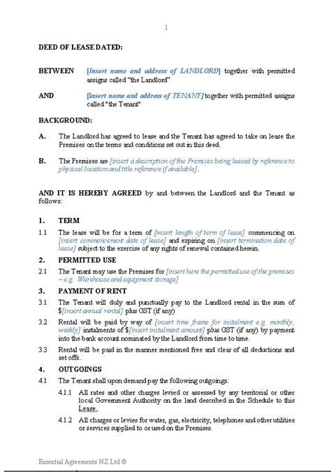 business letter new zealand 19 beautiful tenancy agreement termination letter nz