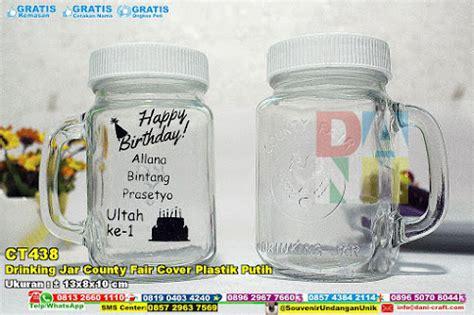 Gelas Botol Kaca Jar Beling 6 291 jar county fair tutup stainless 7503 souvenir pernikahan