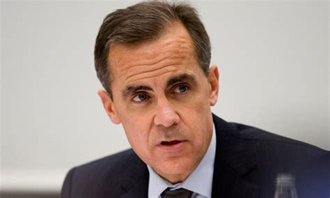 governor of bank of carney named new bank of governor to