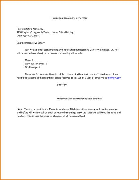 management representative appointment letter template sle meeting request letter representative pat smiley