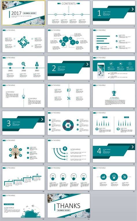 62 best 2018 business powerpoint templates images on