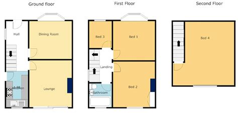 Open Loft Floor Plans by Bedroom Loft Conversion Plans Design Ideas Semi Detached