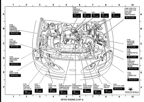 2002 ford focus engine diagram 2001 ford focus se cooling system diagram