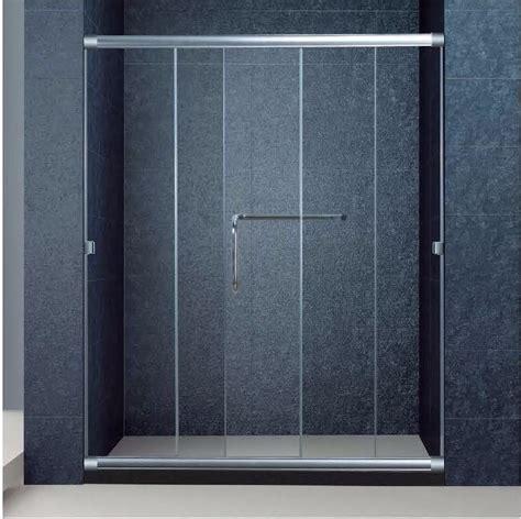 Shower Doors Parts Accessories The Best Custom Semi Frameless 3 Panel Sliding Bathroom Glass Doors For Shower 1700 Width 72