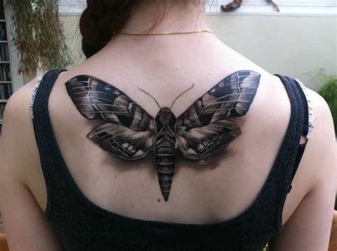 death moth tattoo moth images designs