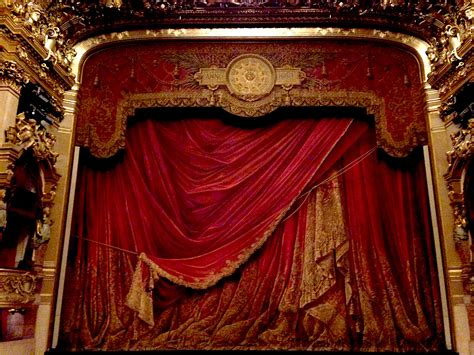 opera curtains curtain palais garnier paris david coggins