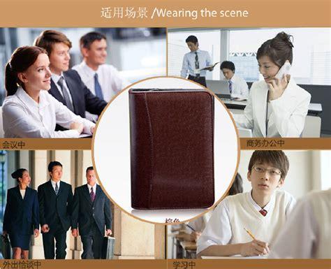 Timbangan Walet buku catatan binder note cover kulit with kalkulator black jakartanotebook