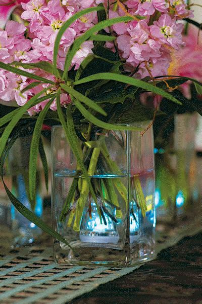 lighted wedding centerpiece weddings superweddings com