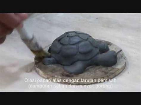 Cetakan Keramik 1 membuat keramik dengan teknik cetak membuat cetakan kura kura a ceramic mold turtle