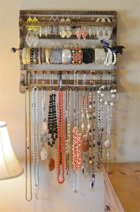 jewelry storage solutions diy 20 diy accessory storage ideas that will your mind