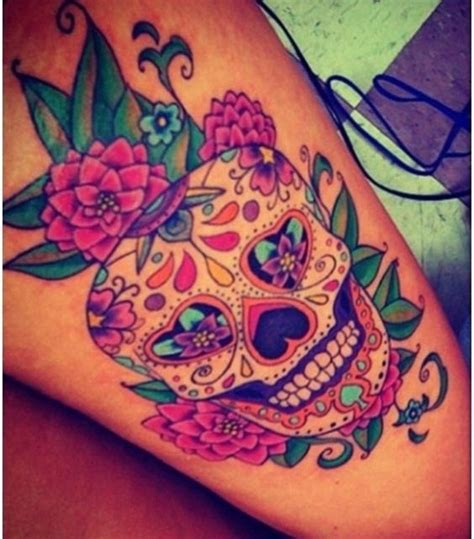 what does a skull tattoo mean 40 sugar skull meaning designs flower design