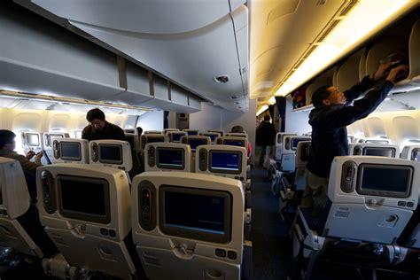 boeing 777 300er cabin boeing 777 300er new economy class cabin seat 25g