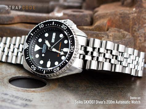Seiko Diver Skx009 Bracelet 8 curved endlink bracelets for your seiko skx007 skx009 strapcode