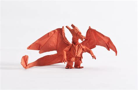 How To Make A Paper Charizard - origami from the best generation part 1